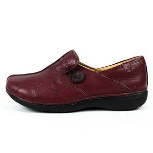 Clarks Unstructured Slip on Loafers Size 7M